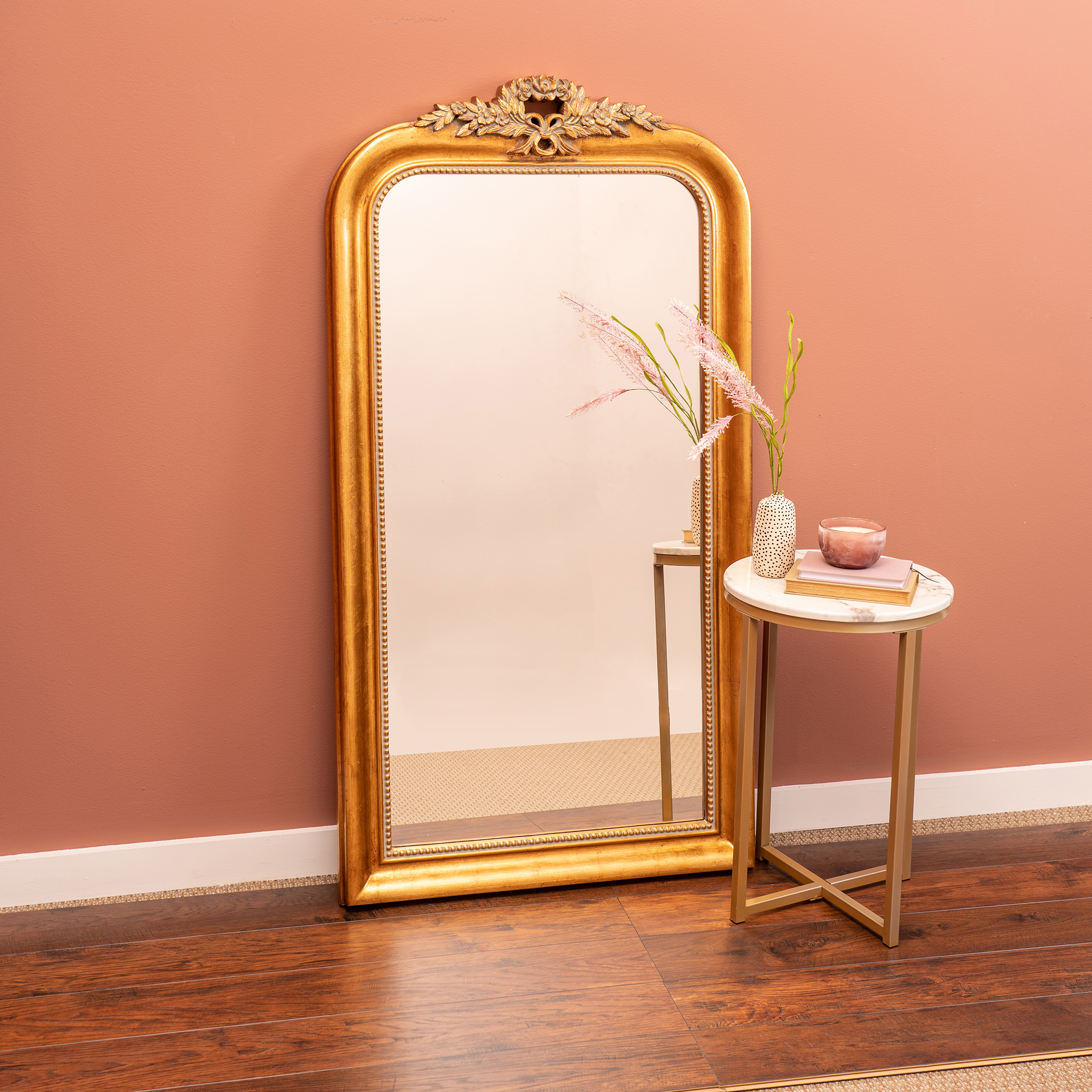 Camilla Arched Floor Mirror Cooper